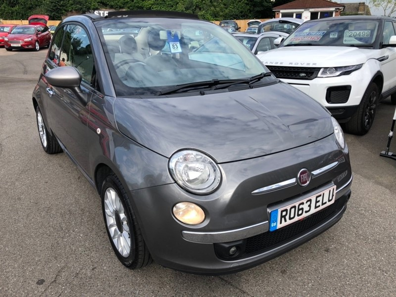 used Fiat 500C 1.2 Lounge 2dr in rochester-kent