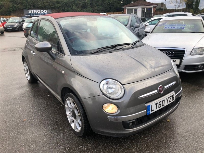 used Fiat 500C 1.2 Lounge Dualogic (s/s) 2dr in rochester-kent