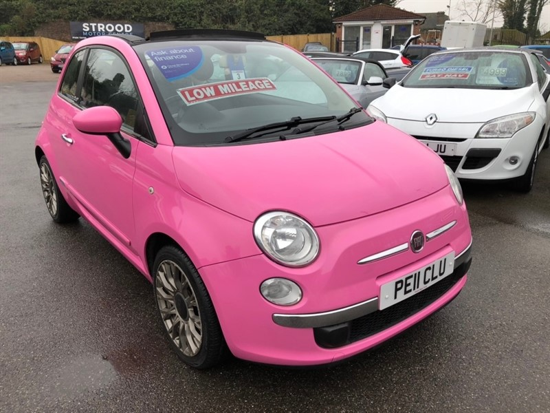 used Fiat 500C 1.2 Pop (s/s) 2dr in rochester-kent