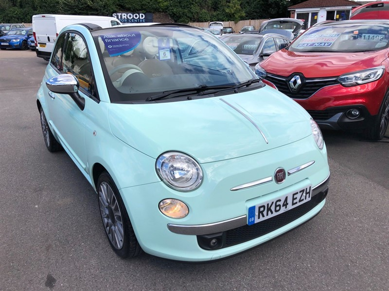 used Fiat 500C TwinAir Cult (s/s) in rochester-kent
