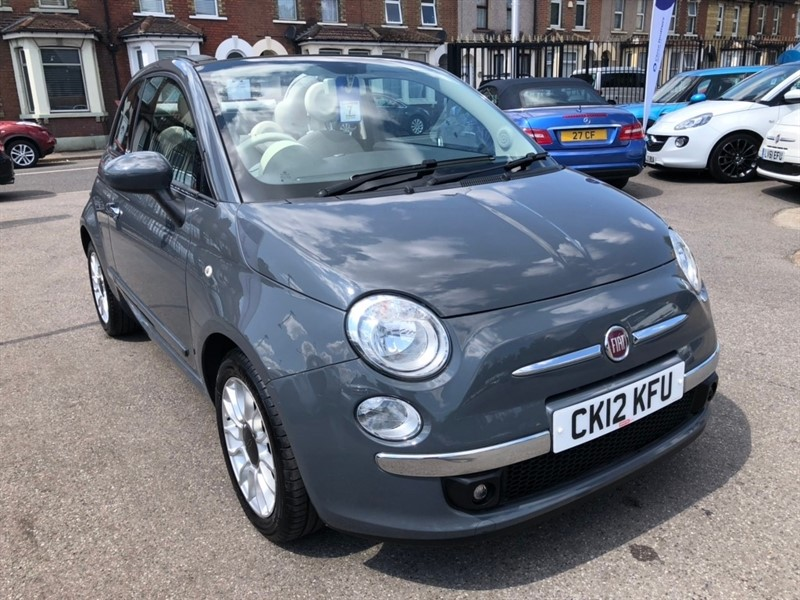 used Fiat 500C TwinAir Lounge (s/s) 2dr in rochester-kent