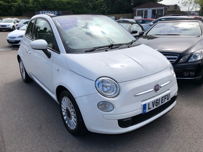used Fiat 500C 1.2 Pop 2dr in rochester-kent