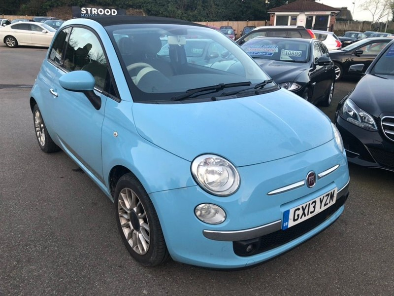 used Fiat 500C TwinAir Lounge (s/s) in rochester-kent