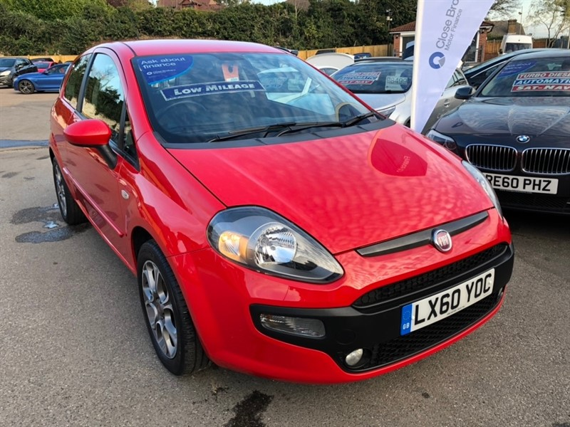 used Fiat Punto Evo 8v GP (s/s) 3dr in rochester-kent