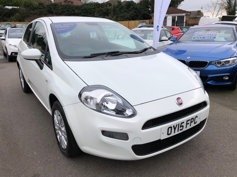 used Fiat Punto 1.2 8v Pop + 3dr in rochester-kent