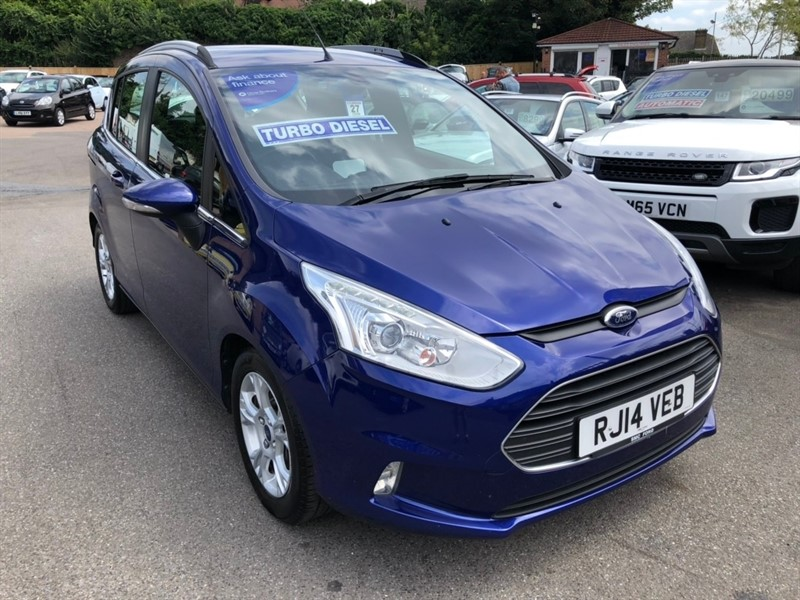 used Ford B-Max TDCi Zetec 5dr (EU5) in rochester-kent