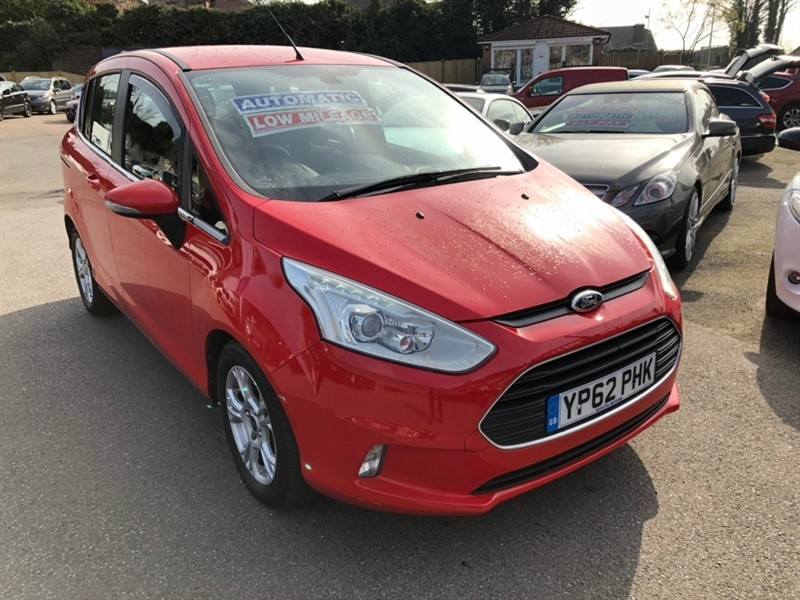 used Ford B-Max Zetec Powershift 5dr in rochester-kent