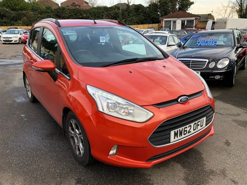 used Ford B-Max Zetec 5dr in rochester-kent