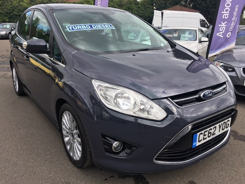 used Ford C-Max TDCi Titanium 5dr in rochester-kent