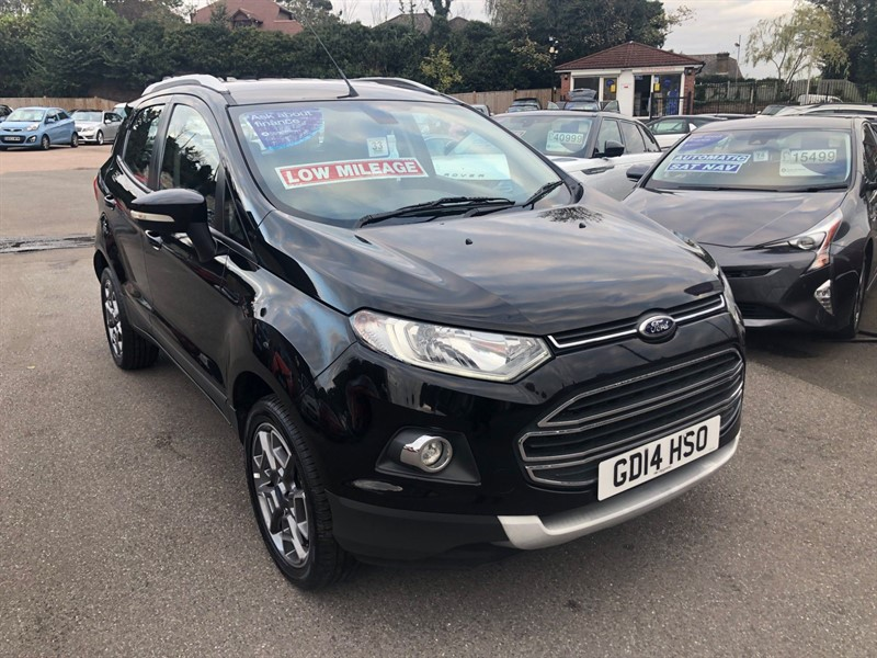 used Ford EcoSport T EcoBoost Titanium (X Pack) in rochester-kent