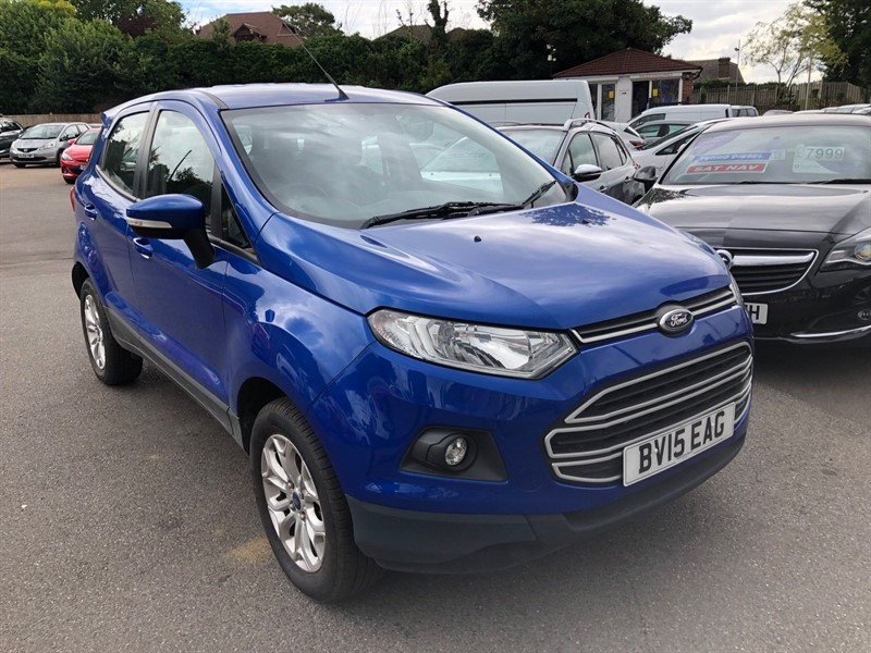 used Ford EcoSport T EcoBoost Zetec in rochester-kent