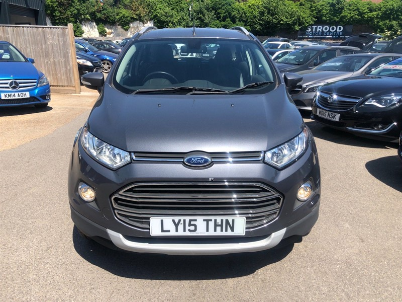 used Ford EcoSport T EcoBoost Titanium in rochester-kent
