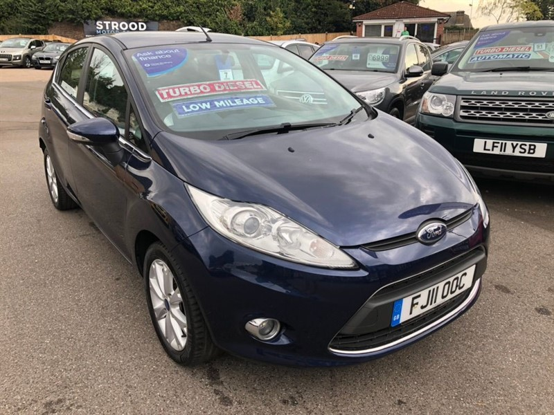 used Ford Fiesta TDCi DPF Zetec 5dr in rochester-kent