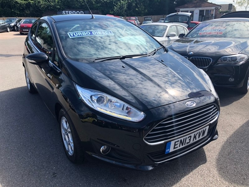 used Ford Fiesta TDCi ECOnetic Titanium (s/s) 3dr in rochester-kent