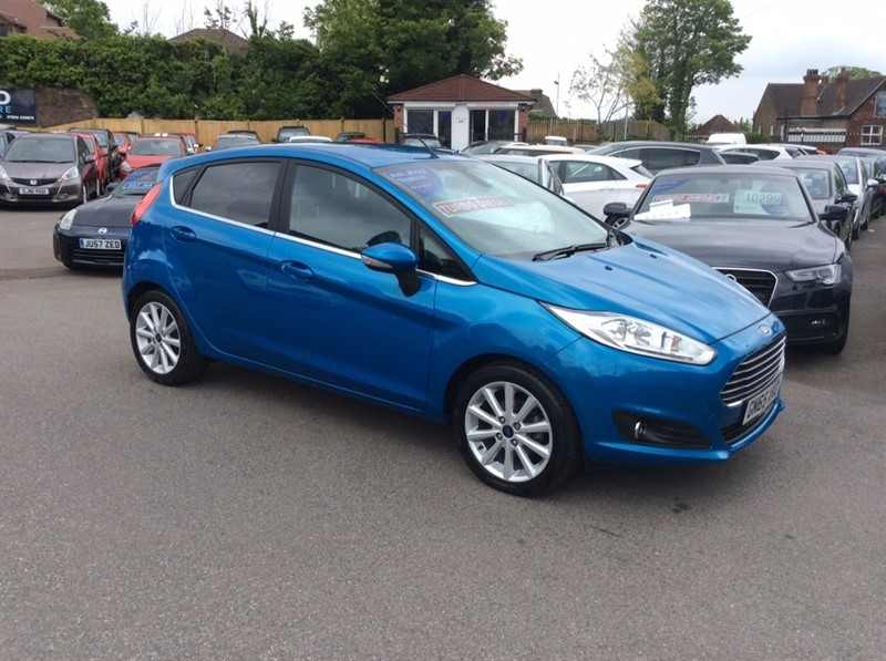 used Ford Fiesta TDCi Titanium 5dr in rochester-kent