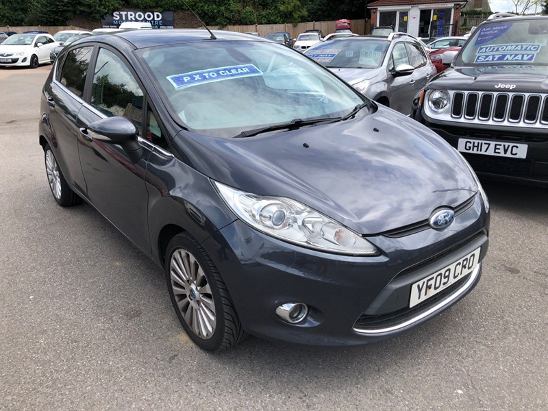 used Ford Fiesta Titanium in rochester-kent