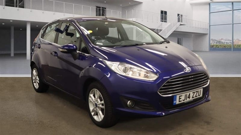 used Ford Fiesta EcoBoost Zetec (s/s) in rochester-kent