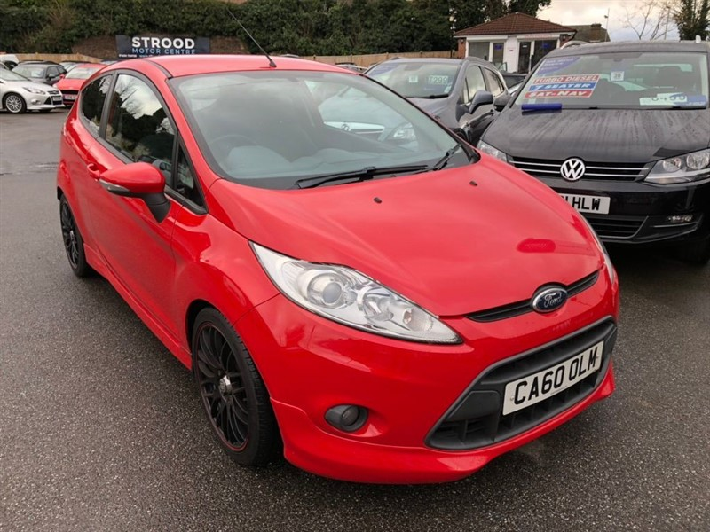 used Ford Fiesta Zetec S 3dr in rochester-kent