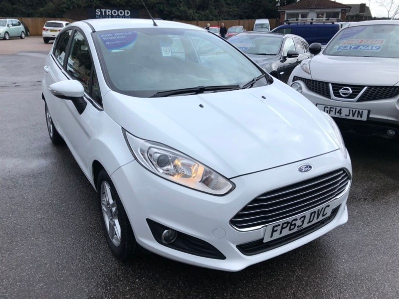 used Ford Fiesta 1.25 Zetec in rochester-kent