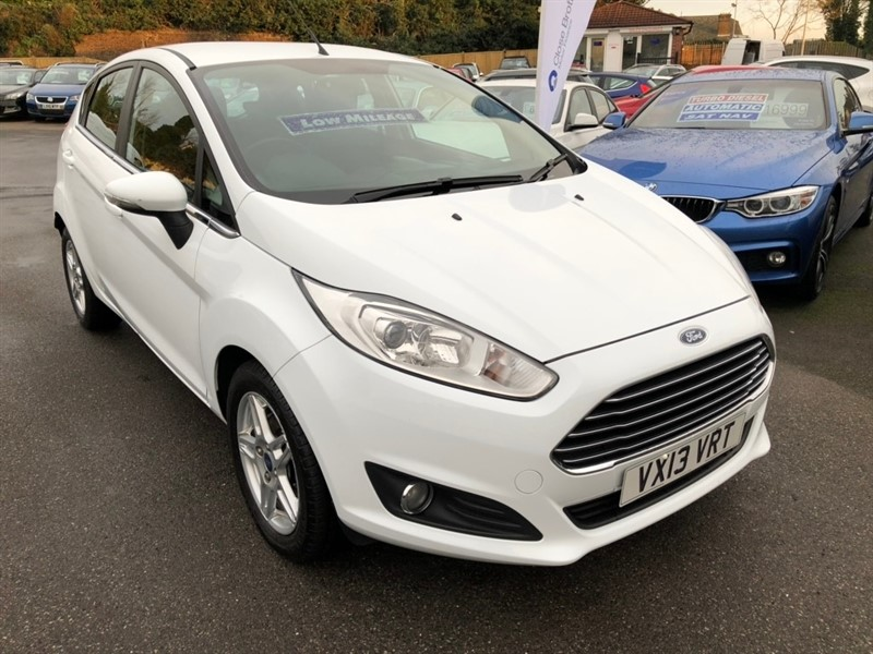 used Ford Fiesta Zetec (s/s) 5dr in rochester-kent