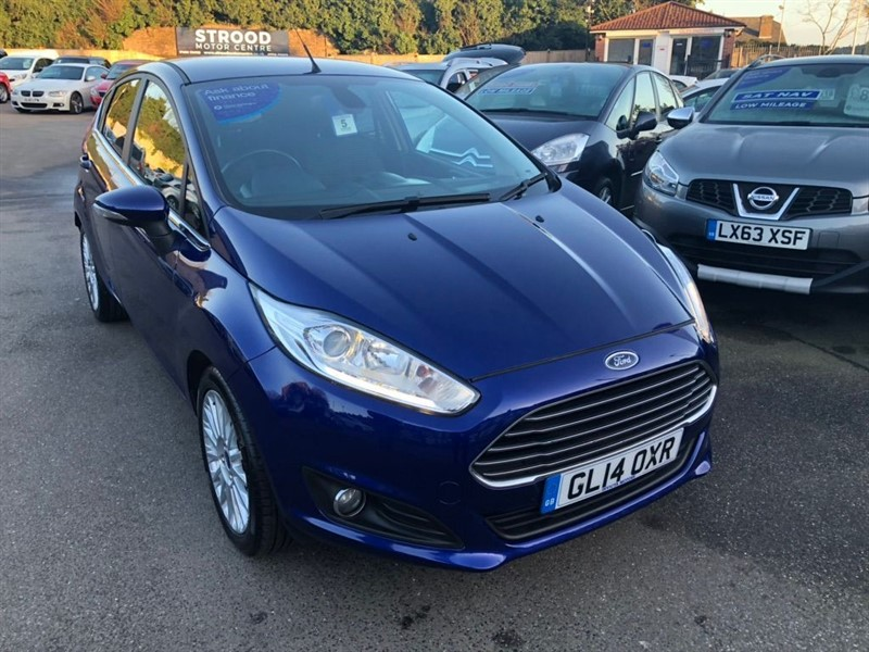 used Ford Fiesta EcoBoost Titanium (s/s) 5dr in rochester-kent
