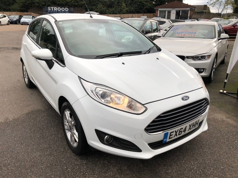 used Ford Fiesta Zetec 5dr in rochester-kent