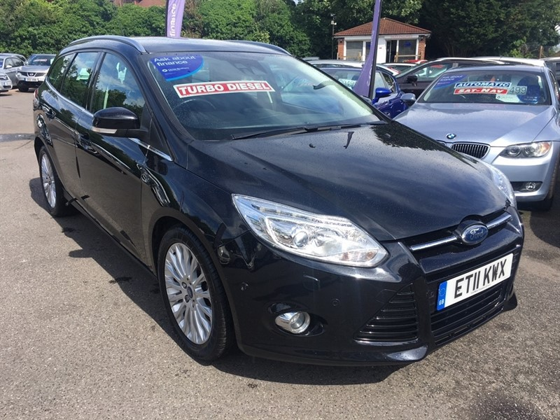 used Ford Focus TDCi Titanium X 5dr in rochester-kent