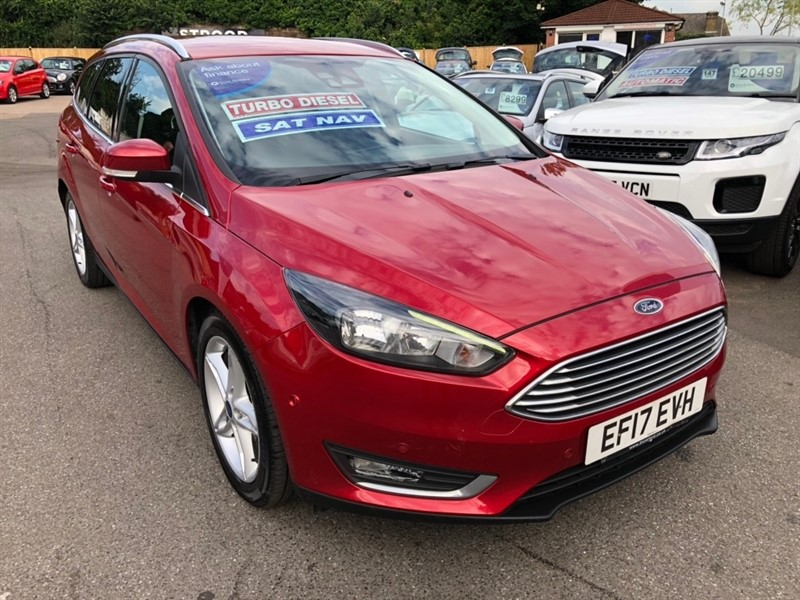 used Ford Focus TDCi Titanium (s/s) 5dr in rochester-kent