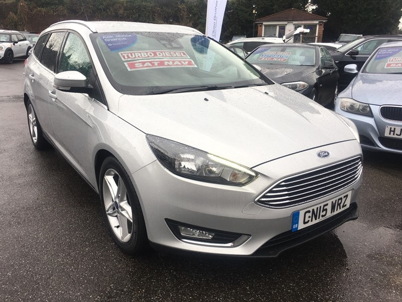 used Ford Focus TDCi Titanium Estate 5dr (start/stop) in rochester-kent