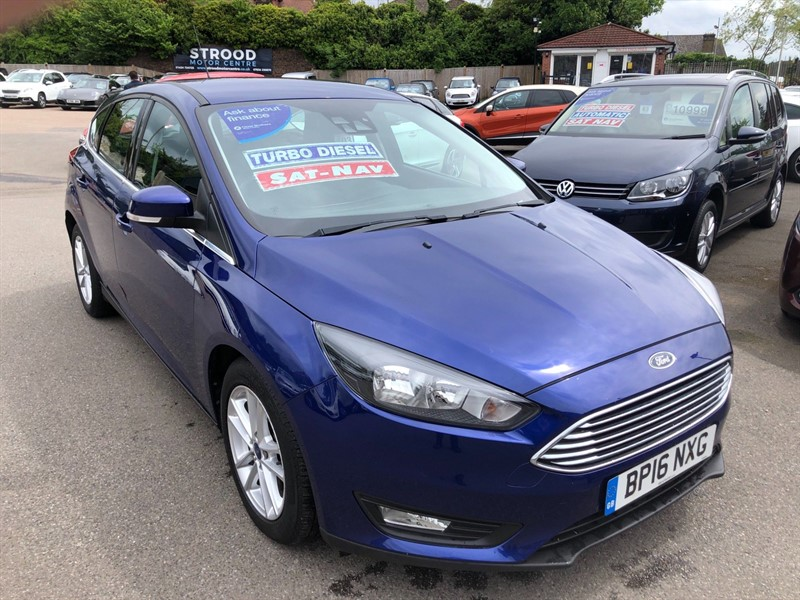 used Ford Focus Zetec (s/s) in rochester-kent
