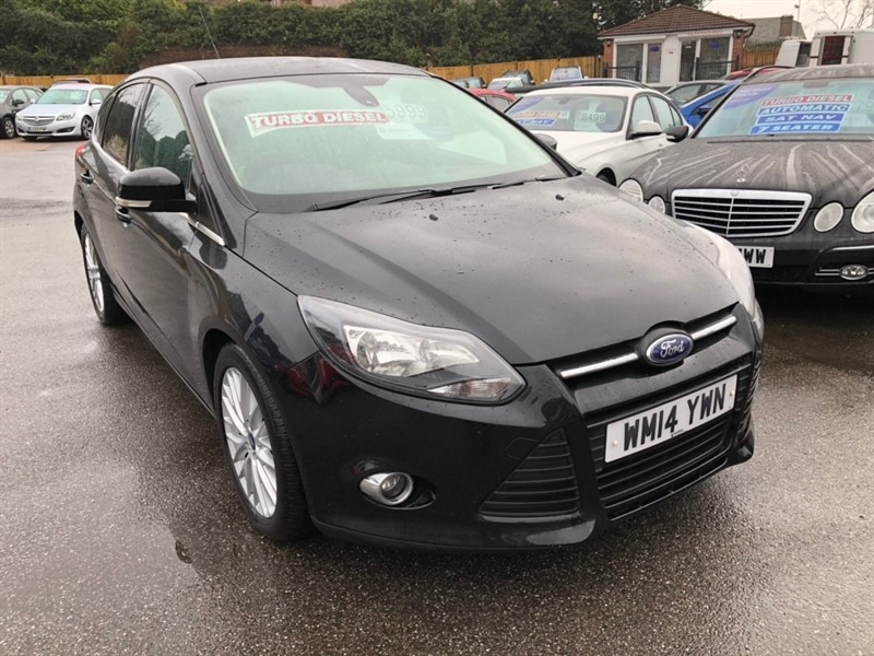 used Ford Focus TDCi Zetec (s/s) 5dr in rochester-kent