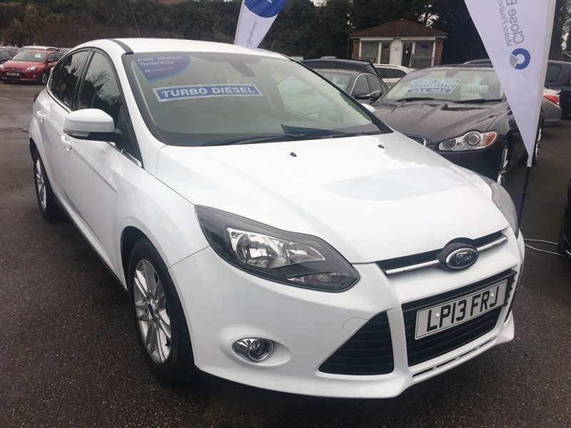 used Ford Focus TDCi Titanium 5dr in rochester-kent