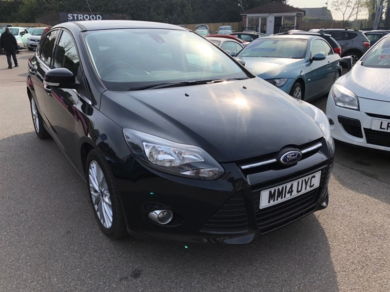 used Ford Focus TDCi Zetec Navigator (s/s) 5dr in rochester-kent