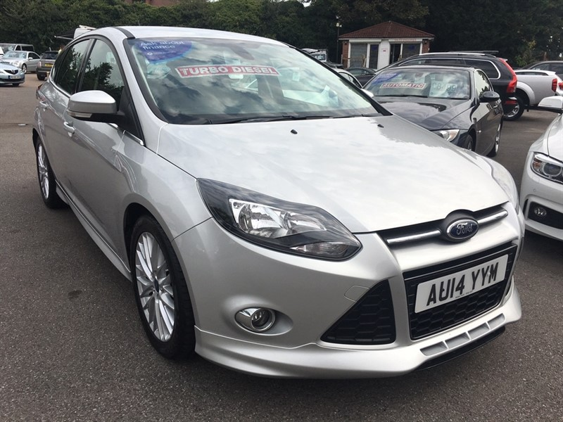 used Ford Focus TDCi Zetec S 5dr (start/stop) in rochester-kent