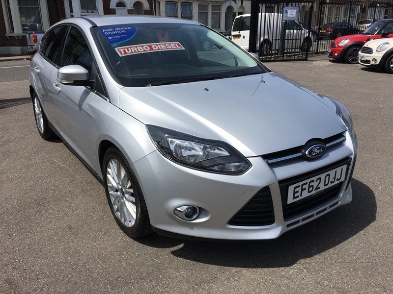 used Ford Focus TDCi Zetec 5dr in rochester-kent