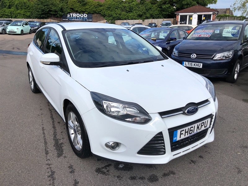 used Ford Focus Zetec in rochester-kent