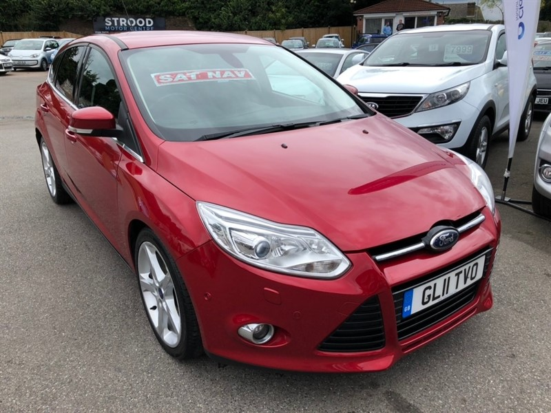used Ford Focus SCTi EcoBoost Titanium X 5dr in rochester-kent