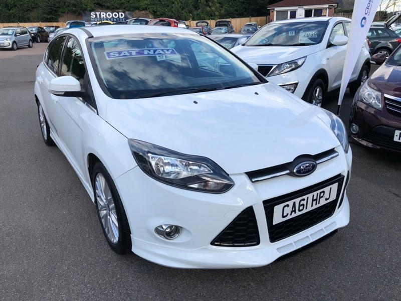 used Ford Focus Ti-VCT Zetec S 5dr in rochester-kent