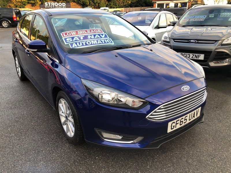 used Ford Focus Titanium Powershift in rochester-kent
