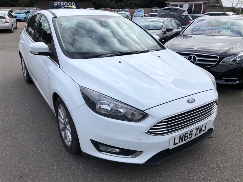 used Ford Focus 1.0T EcoBoost Titanium (s/s) in rochester-kent