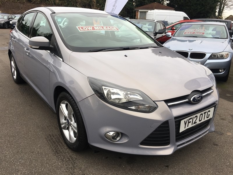 used Ford Focus SCTi EcoBoost Zetec 5dr in rochester-kent