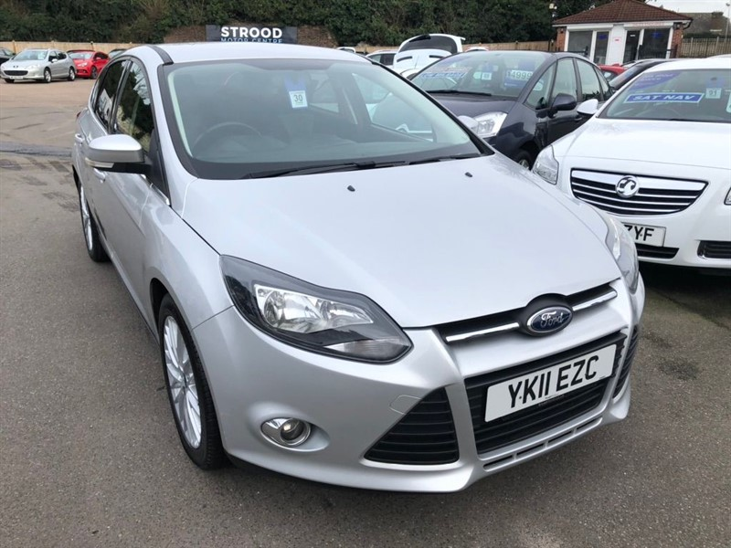 used Ford Focus Ti-VCT Zetec in rochester-kent