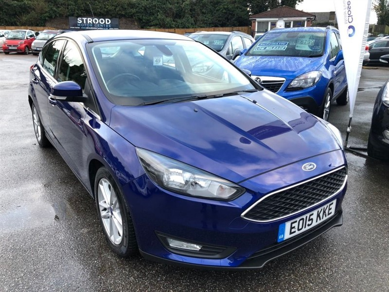 used Ford Focus T EcoBoost Zetec (s/s) 5dr in rochester-kent