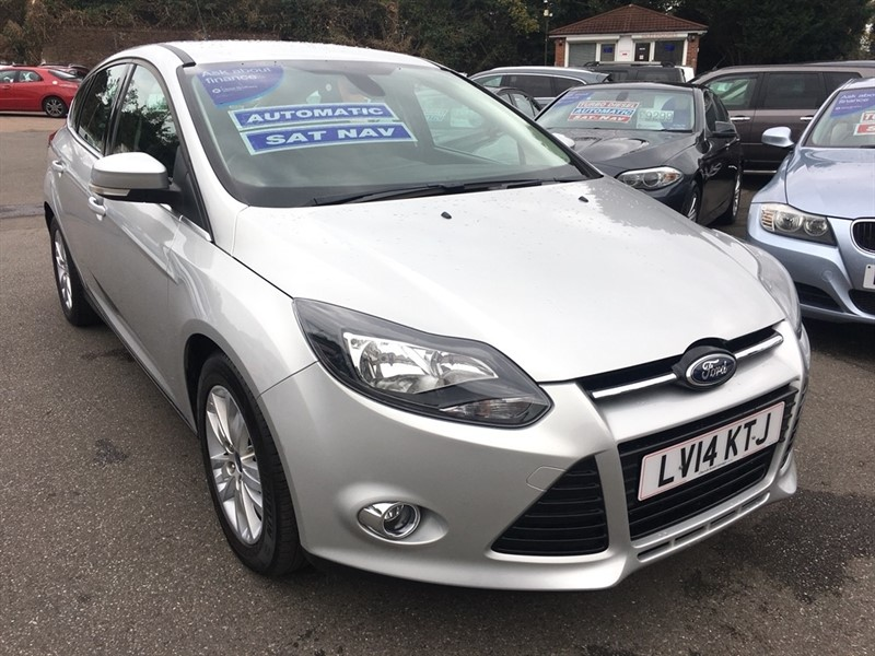 used Ford Focus SCTi EcoBoost Titanium Navigator Powershift 5dr in rochester-kent