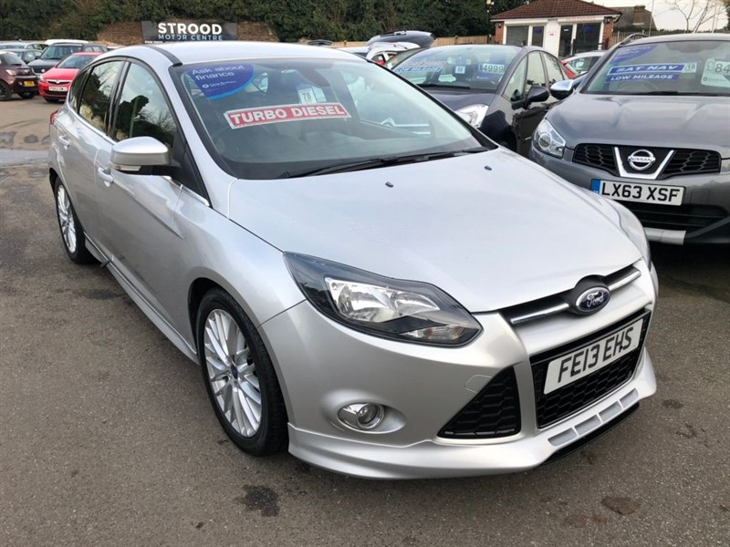 used Ford Focus SCTi EcoBoost Zetec S 5dr in rochester-kent