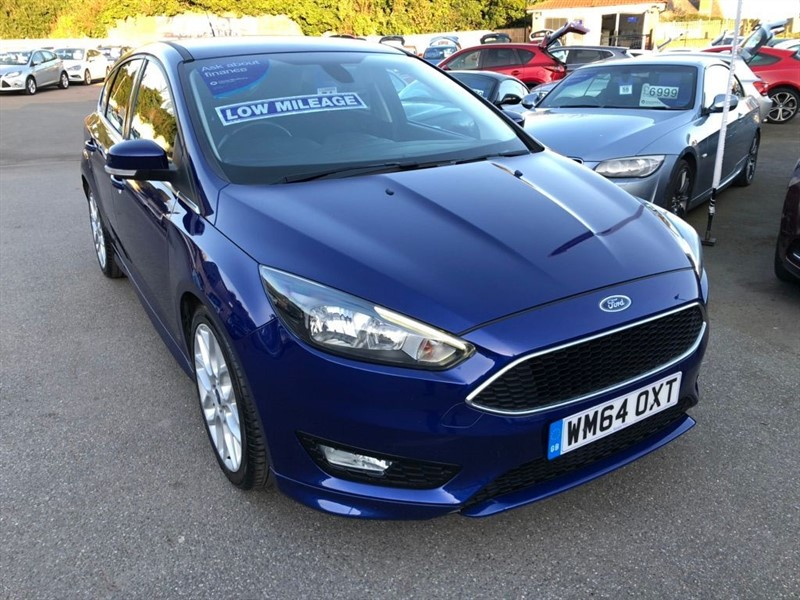 used Ford Focus 1.0T EcoBoost Zetec S (s/s) in rochester-kent