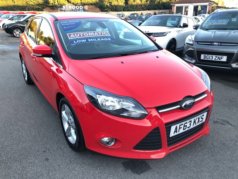used Ford Focus Zetec Powershift in rochester-kent