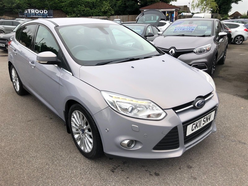 used Ford Focus SCTi EcoBoost Titanium X in rochester-kent