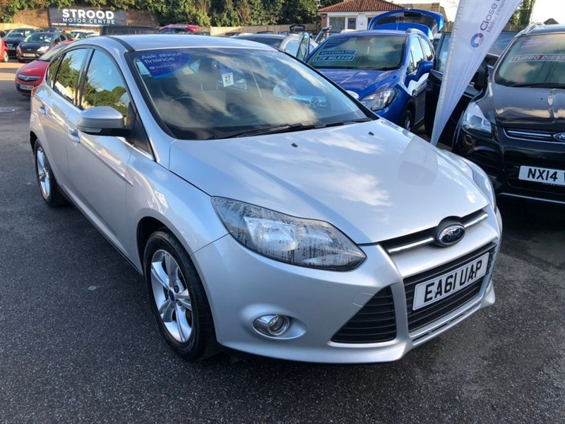 used Ford Focus Ti-VCT Zetec 5dr in rochester-kent
