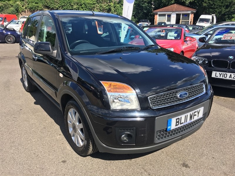 used Ford Fusion Titanium 5dr in rochester-kent